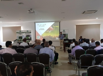 Scientific lecture on fertilizers in cooperation with cosmocel